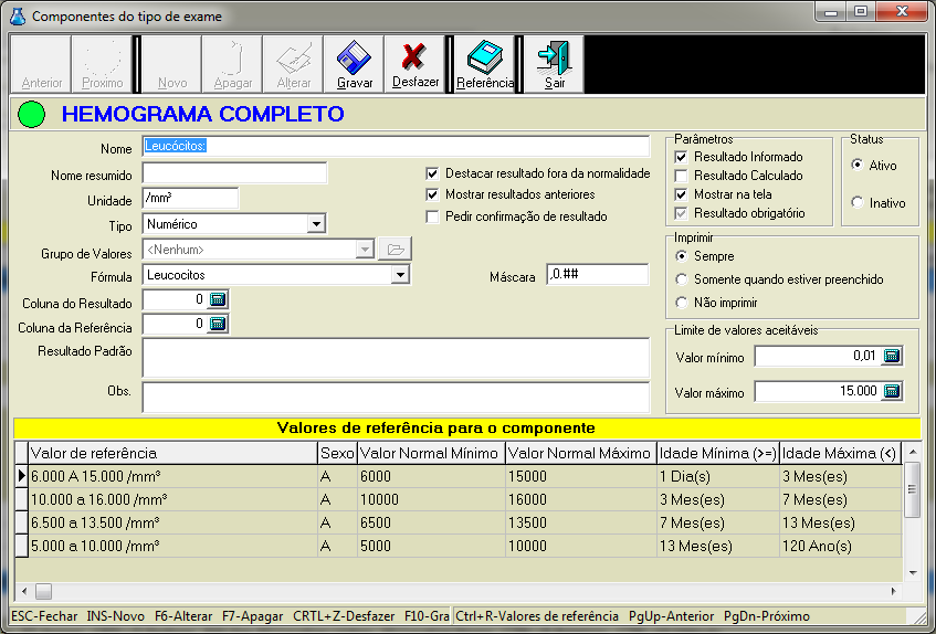 software laboratorio analises clinicas